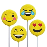 Emoticon Lollipops: 24 Pack