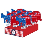 Political Lollipop Assortment: 24 Pack Display
